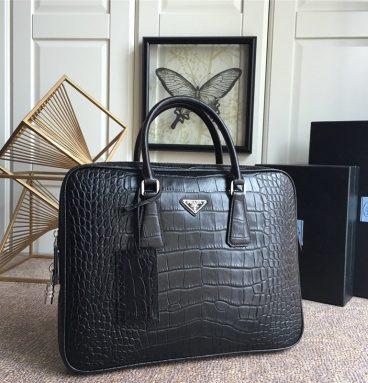 Prada men's handbags