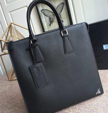 Prada men's briefcase men's bag