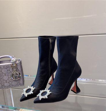 Replica Amina muaddi boots