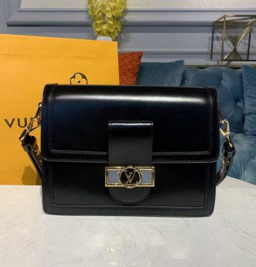 Louis Vuitton Dauphine Bag Black