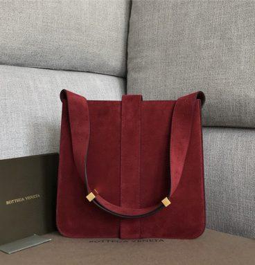 Bottega Veneta | Marie embellished leather shoulder bag Red