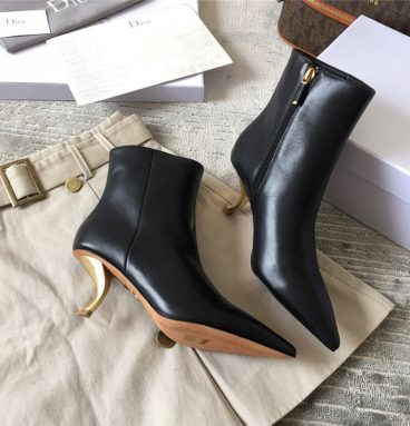 Christian Dior Tartan Ankle & Booties Boots