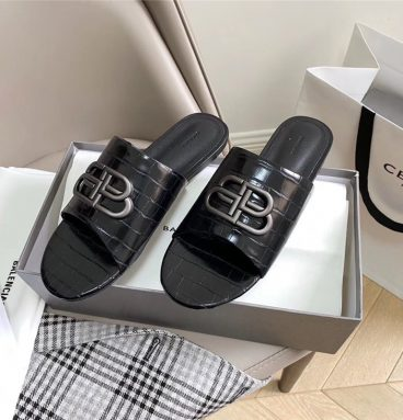 Balenciaga BB Mule Sandal