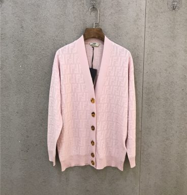 Fendi Cardigan for womens 1:1 replica clothing