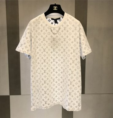 Lv Louis Vuitton logo t shirt