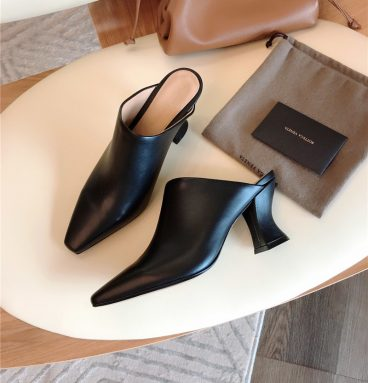 Bottega Veneta block heel sandals