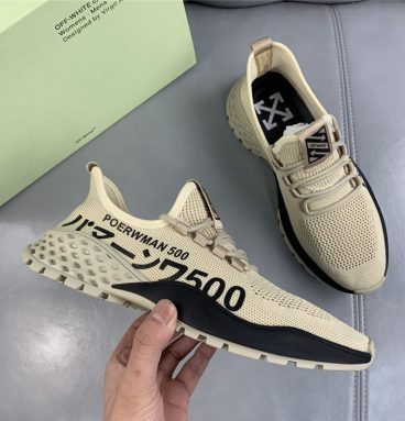 Off-White Leather Sneaker