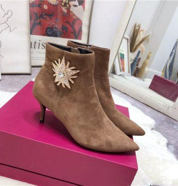 roger vivier ankle boots replica shoes