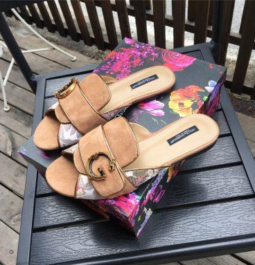 d&g slippers women