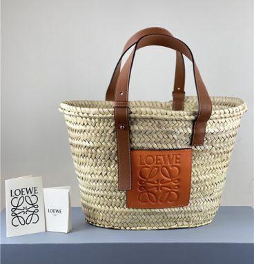 Loewe Straw Vegetable Basket replica bags