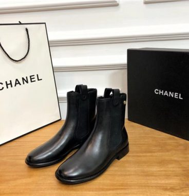 chanel booties replica shoes