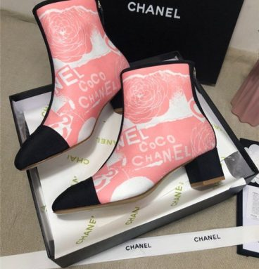 chanel ankle booties replica shoes