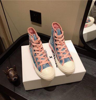 converse x lv sneakers replica shoes