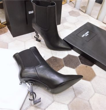 ysl ankle boots replica shoes