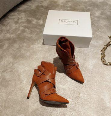balmain booties replica shoes