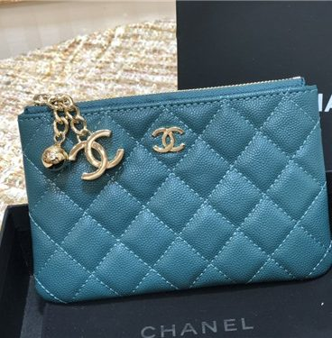 Chanel card case coin purse