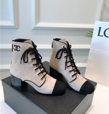 chanel ankle boots