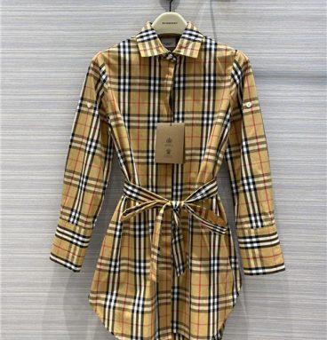 burberry plaid dress