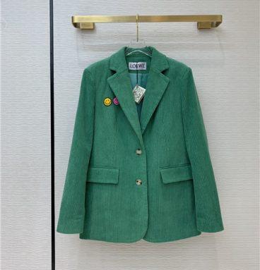 loewe coat green
