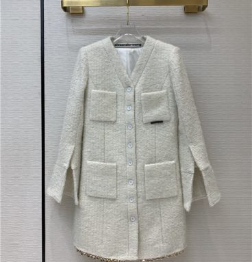 alexander wang tweed jacket