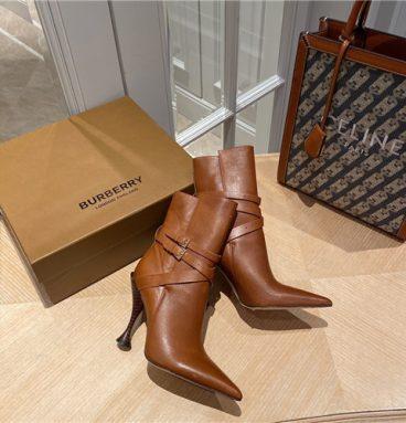 burberry heel boots