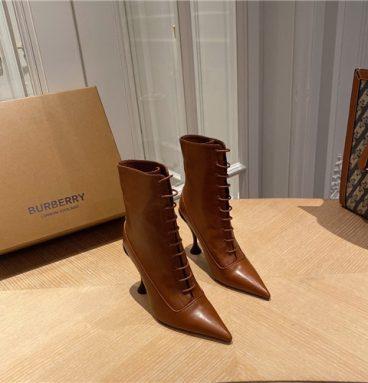 burberry high heel boots