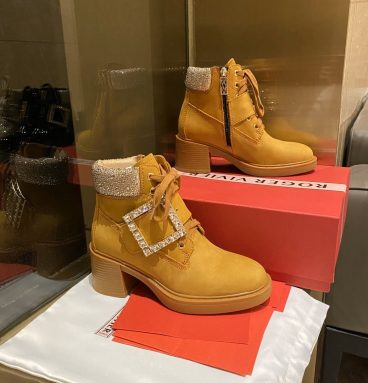 roger vivier ankle boots women