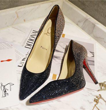 christian louboutin diamond high heels