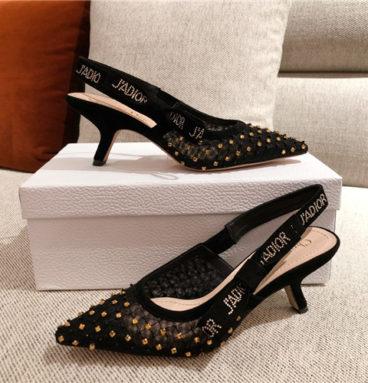 christian dior heel sandals