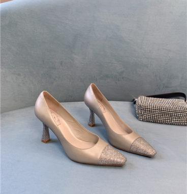 Rene Caovilla diamond high heels