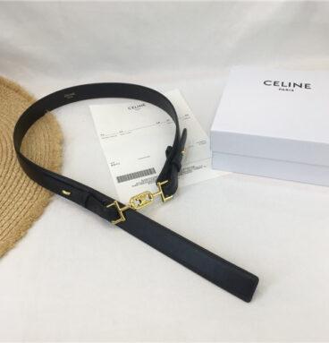 celine buckle belt