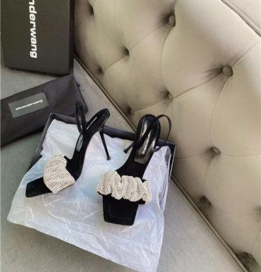 alexander wang heels sandal