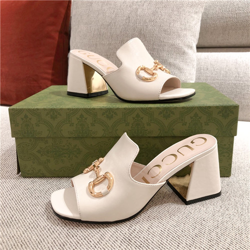 gucci chunky heel slippers sandals
