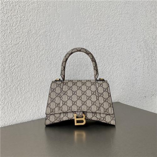 gucci balenciaga gg hourglass bag