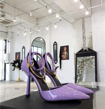 versace high heels sandals