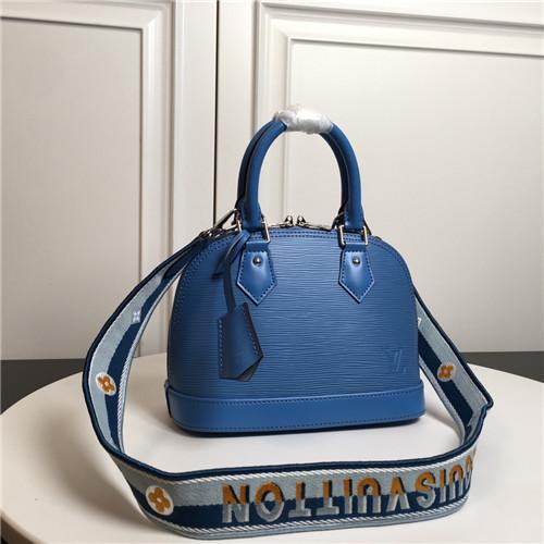 lv alma bb bag blue